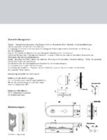 Ausschreibungstext Magnetic Glastürschloss