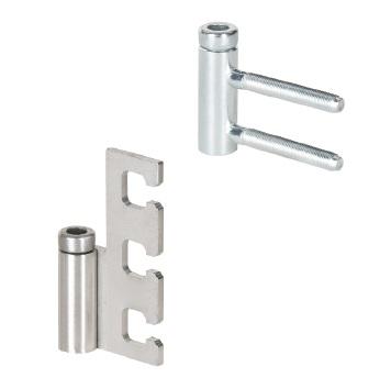 Rahmenteile für Glastürbänder