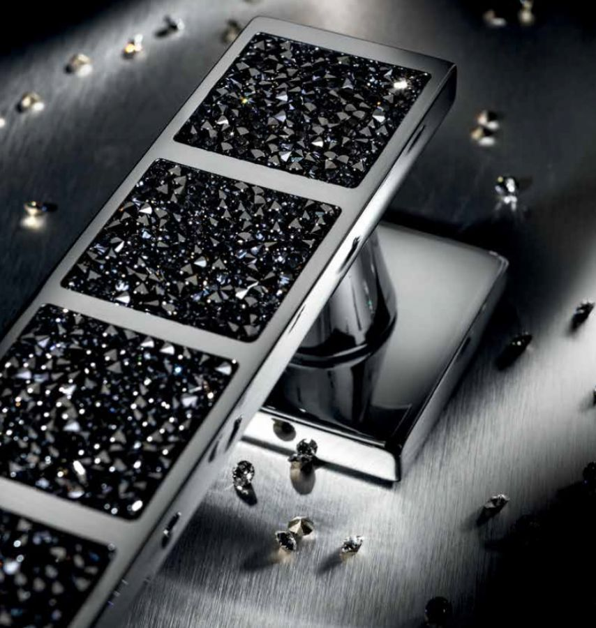 Türgriffe mit Swarovski Kristallen