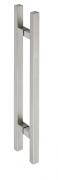 Hermat Stoßgriff Edelstahl 8031 25x25mm