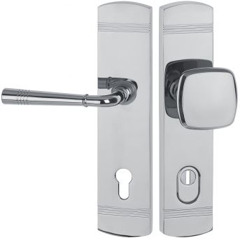 Schutzbeschläge Schutz - Wechselgarnitur 1174.F 72 mm Wechselgarnitur