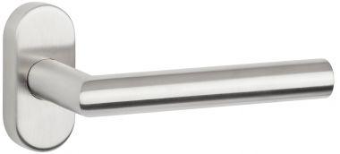 Drückerlochteil Basic 02 auf Ovalrosette