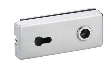 Magnet Glastürschloß Genova (PZ) silber elox.
