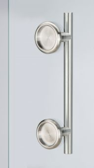 Stoßgriff Schiebetürmuschelkombi 6406.Duo/Set 400/300 mm