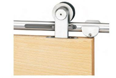 Schiebetürbeschlag Torbole Holz 2 Safe Close für 1 flg. Holztür