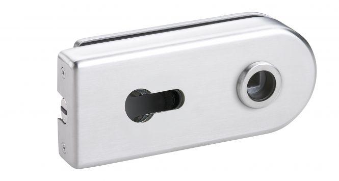 Magnet Glastürschloß Venezia (PZ 10 mm) Edelstahl matt