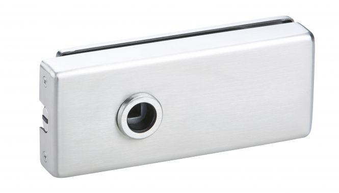 Magnet Glastürschloß Genova (OL) Edelstahl matt
