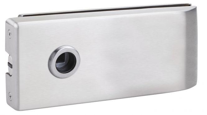 Magnet Glastürschloß Bari (OL) Edelstahl matt