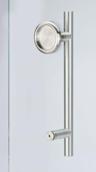 Stoßgriff Schiebetürmuschelkombi 6406.SET 300/200 mm