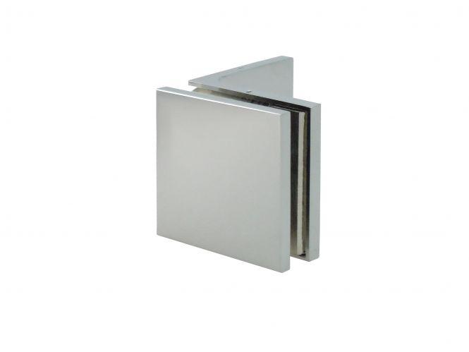 Winkelverbinder Glas/Wand 90°
