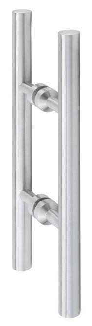 Glastürbeschläge Hermat Glastür-Stoßgriffpaar 8034