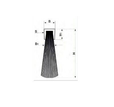 Ellen Elton IBS 39 Türbodendichtung ohne Halteprofil zum Einnuten 100 cm