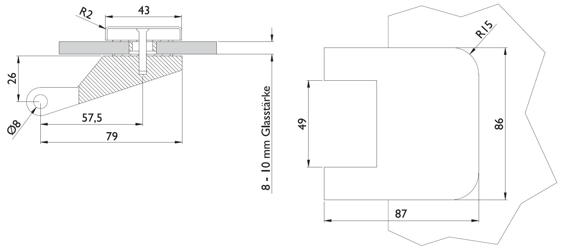 glast rband 6315 stil shop f r beschl ge. Black Bedroom Furniture Sets. Home Design Ideas